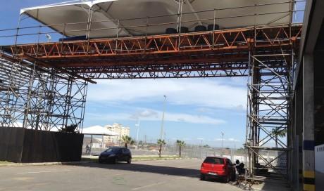 Passarela para acesso ao Estádio Castelão – Copa 2014
